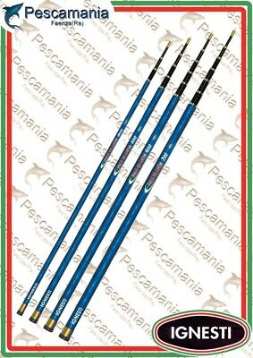 pole telescopic for fishing with the balance with nuts reinforcement