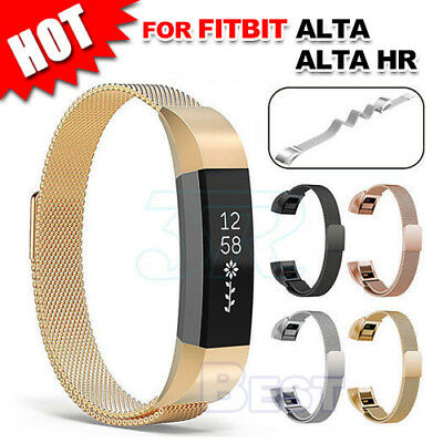 Stainless Steel Replacement Spare Magnetic Band Strap for Fitbit Alta / Alta HR