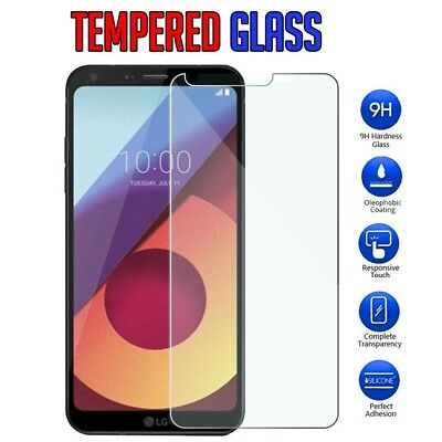 [ 2 Pack] LG Q6 I G7 ThinQ Tempered Glass LCD Screen Protector Film Guard