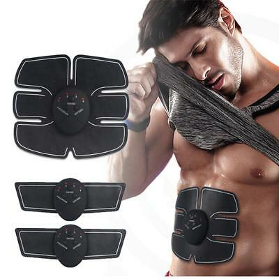 EMS Muscle ABS Fit Training Gear Abdominal Body Home Exercise Shape Fitness Set