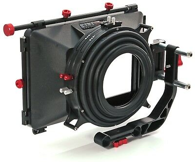"shoot35 CINEbox 4x4"" Matte Box with Top & Side Flags"