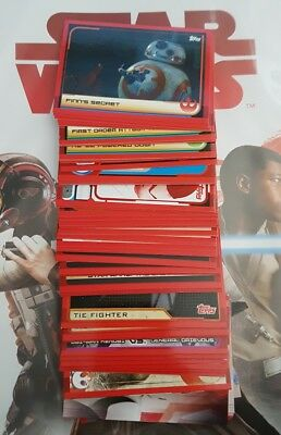 TOPPS STAR WARS JOURNEY TO THE LAST JEDI CARDS - Select 20x Base Cards