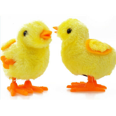 Yellow Fuzzy Chick Girl Boy Children Educational toys Funny Wind-Up Toy Starmall