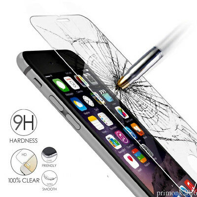 3 Pack 100% Genuine Tempered Glass Film Screen Protector For Apple Iphone 7 Plus