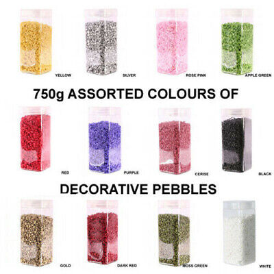 750g Decorative Small Stones Arts & Craft Flower Pot Candle Centrepiece Wedding
