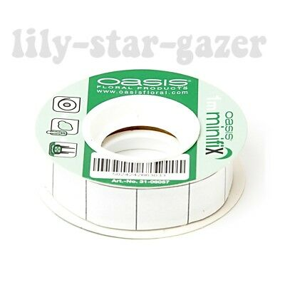Oasis Fix Adhesive Tack 1 Metre Roll – Securing Gum 1m x 1cm – Floristry Craft