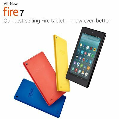 Amazon Kindle Fire Tablet New 2017 Model with Alexa 8GB, Wi-Fi, 7in Yellow