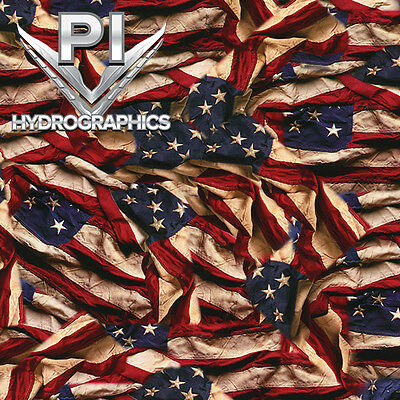 Hydrographic Film Hydro Dipping Hydrodip American Flag Respect Ll-739