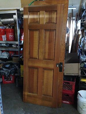 Vintage Oak and Pine Interior Doors