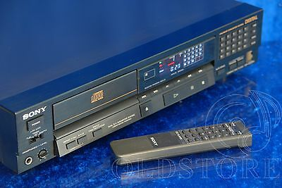 ►Sony Cdp 222Es◄Lettore Cd Player Con Telecomando Rm D190 Vintage Kss 151A Top!