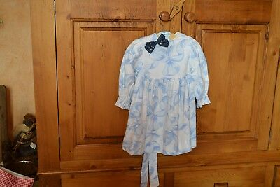robe tartine et chocolat 12 mois manches longues ceinture offre noeud neuf rentr