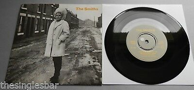 "The Smiths - Heaven Knows UK 1984 Rough Trade 7"" P/S Push-Out Centre"