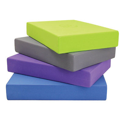 Fitness Mad Full Yoga Block EVA Foam Brick - Pilates Studio Stretch 305x205x50mm