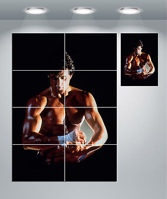 Rocky Balboa Boxing Classic Movie Giant Wall Art Poster Print