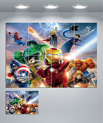 Marvel Ironman Giant XL Section Wall Art Poster VG117