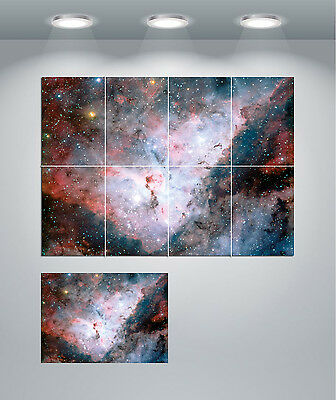 Cone Nebula Outer Space Giant Wall Mural Art Poster Print 47x33 Inches