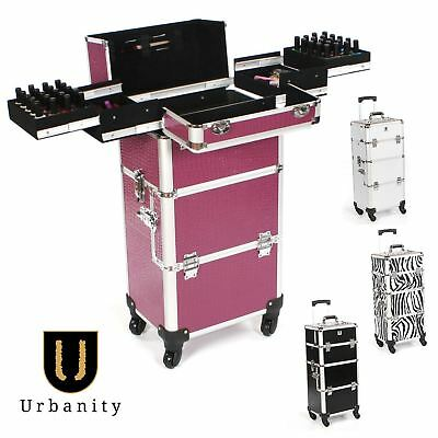 Nail Technician Trolley by Urbanity Mobile Professional MakeUp Varnish Organiser