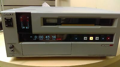 Sony UVW-1800 BetaCam SP VCR Recorder *GREAT WORKING CONDITION!*