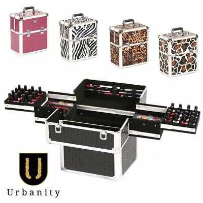 Nail Polish Case for Professional Technician by Urbanity Mobile Varnish Box