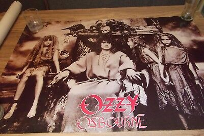 OZZY OSBOURNE No Rest for the Wicked Poster POSTER  1988 Winterland/RockExpress