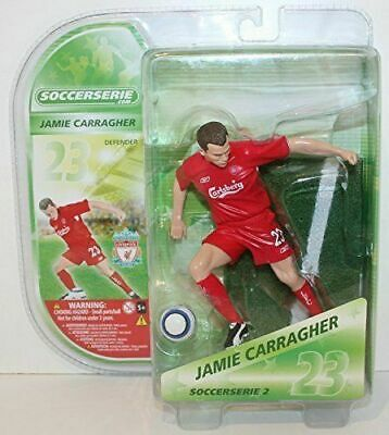 JAMIE CARRAGHER Action Figures 3D Stars Football 15cm LIVERPOOL SOCCERSERIE NEW