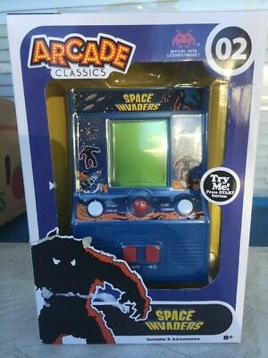 Space Invaders Mini Arcade classic Game New!