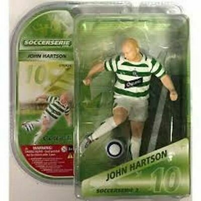 JOHN HARTSON Action Figures 3D Stars Football (h 15cm) CELTIC SOCCERSERIE NUOVO