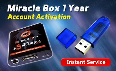 Miracle Box 1 Year Account Re Activation { FAST DELIVERY OFFICIAL RESELLER }