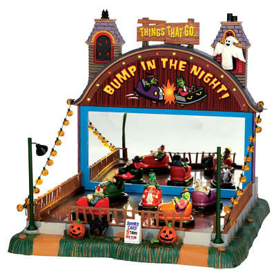 Lemax Spooky Town Collection Halloween Village Accessory Bump In The Night NEW