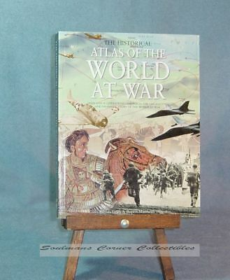 Excellent Research Book Historical Atlas of the World at War ** FREE SHIPPING **