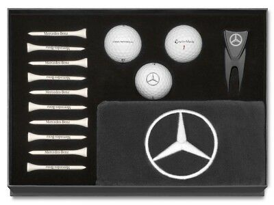 Genuine Mercedes-Benz TaylorMade Black Boxed Golf Gift Set - B66450126 NEW