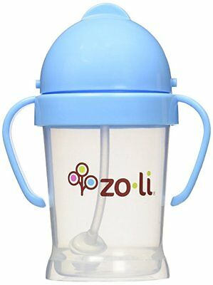 NEW - ZoLi BOT Straw Sippy Cup - 6 oz. BLUE - FREE SHIPPING