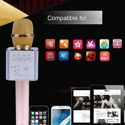 New Golden Q9 Wireless Bluetooth Outdoor Family Karaoke Microphone Music Mic for