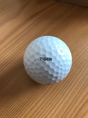 Tiger Woods Tour Issue RARE Nike Golf Ball PGA