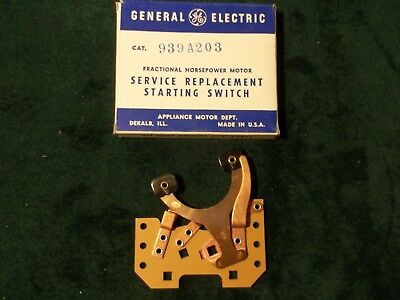 New GE General Electric Motor Starting Switch 939A203