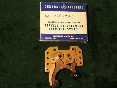 New GE General Electric Motor Starting Switch 939A202