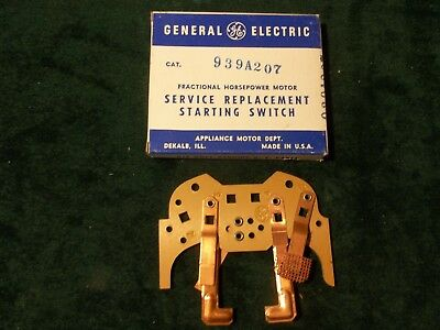 New GE General Electric Motor Starting Switch 939A207