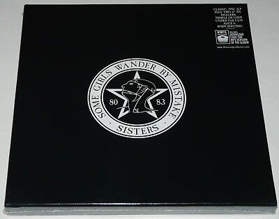 The Sisters Of Mercy Some Girls Wander By Mistake LP 4 LP/EP Vinyl Boxset NEW