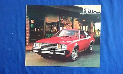 1979 Ford Pinto Car Sales Brochure