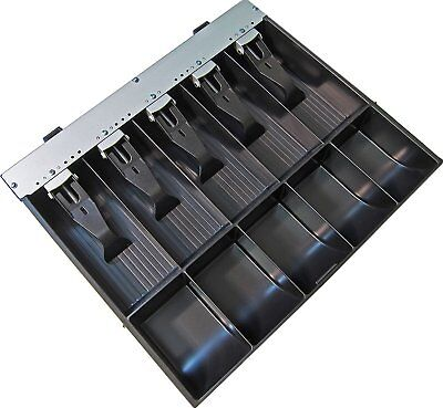 APG VPK-15B-2A-BX Vasario Series Standard-Duty ABS Plastic Till For Cash Drawer,
