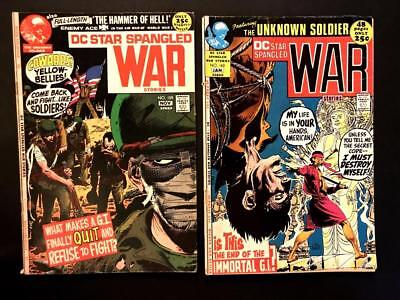 DC Star Spangled War #159-160 WAR STORIES LOT VINTAGE SCARCE VG