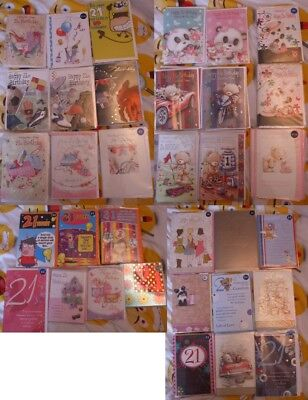 Job Lot/Wholesale various Birthday Cards x50