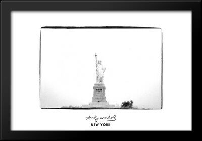 Statue of Liberty, 1982 40x28 Framed Art Print by Andy Warhol