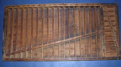 Vintage Hamilton Mfg. Co. No 3045 Quarter Size Rule Case Two Rivers, Wis USA
