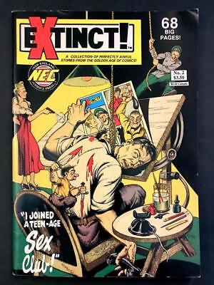 Extinct! #2 Perfectly Awful Stories from GOLDEN AGE Vintage SCARCE FN/VF