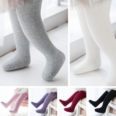 Hot Baby Girl Toddler Kid Cotton Long Socks Warm Tights Stocking Pantyhose Pants