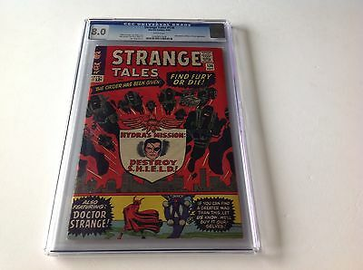 Strange Tales 136 Cgc 8.0 2Nd Appearance Nick Fury Agent Shield Baron Mordo App