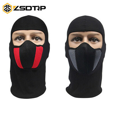 Breathable Motorcycle Cycling Hunting Balaclava Full Face Mask Helmet Dustproof