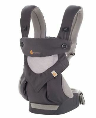 Ergo 360 Four Position breathable carrier Dusty gray New w box