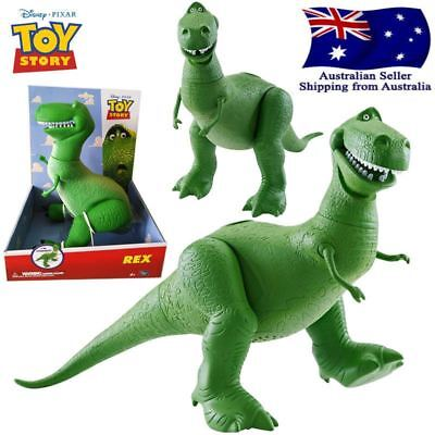 Disney Pixar Toy Story 3 Poseable 11 Inch Tall Rex the Dinosaur Toys for Kids